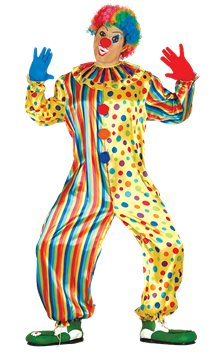 Jumpsuit Clown - Adult Costume
