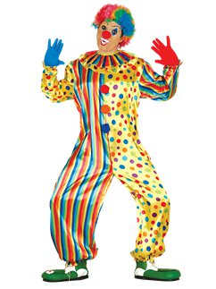 Tuta da clown - Costume adulto