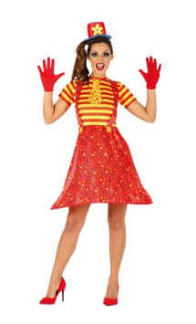 Hoopy The Clown - Adult Costume