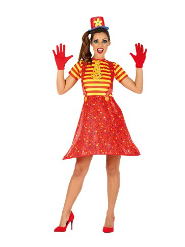 Hoopy The Clown - Adult Costume front