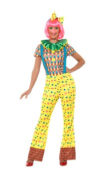 Giggles The Clown Lady - Adult Costume