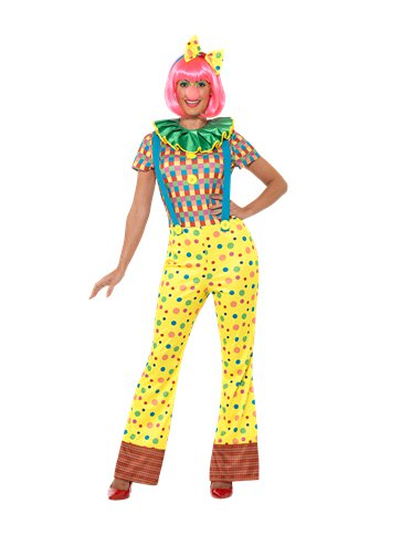 Giggles The Clown Lady - Adult Costume front