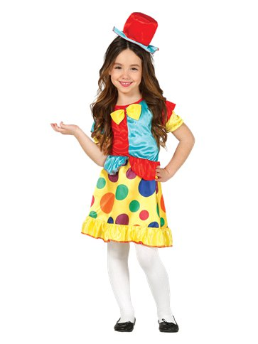 Clown Girl - Child Costume front