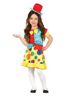 Clown Girl - Child Costume