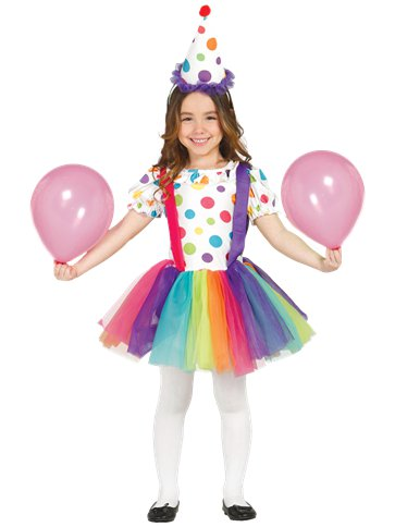 Circus Clown Girl - Child Costume front