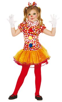 Little Clown Girl - Child Costume