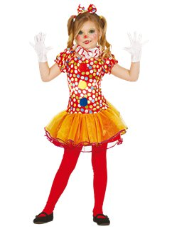 Little Clown Girl