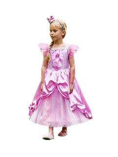 Fairytale Princess with Crown - Child Costume