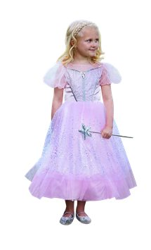 Glitter Princess with Wand - Child Costume