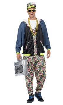 80's Hip Hop - Adult Costume