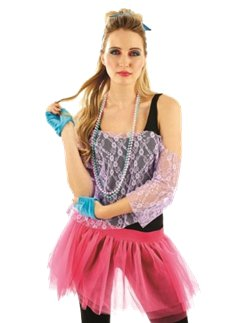 80's Lace Tutu Kit - Adult Costume