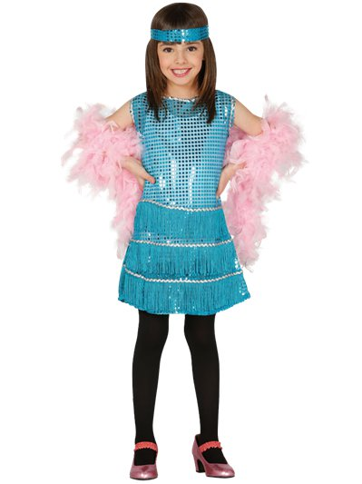 Blue Flapper Dress - Child Costume