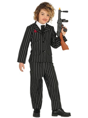 Gangster Suit - Child Costume front