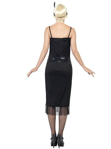 Black Flapper Dress - Adult Costume left