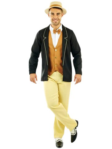 1920's Gentleman - Adult Costume front