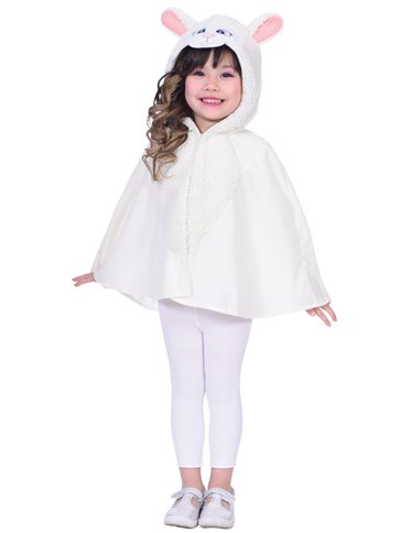 Sheep Cape - Child Costume front