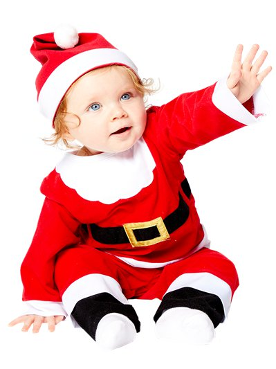 Little Santa - Baby Costume