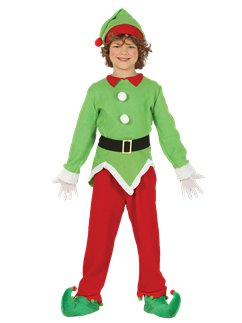 Christmas Elf - Child Costume