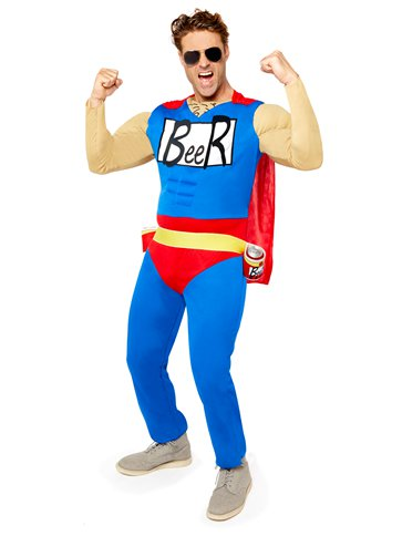 Beer Man - Adult Costume front