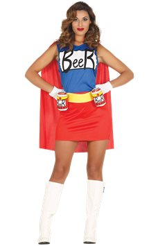 Beer Woman - Adult Costume