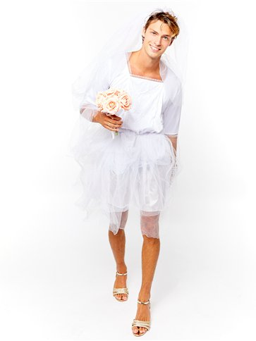 Bride Man - Adult Costume front