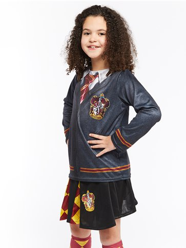 Gryffindor Top - Child Costume back