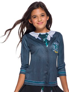 Slytherin Top - Child Costume