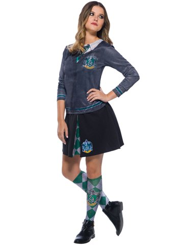 Slytherin Top - Child Costume left