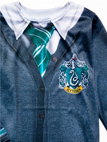 Slytherin Top - Child Costume right