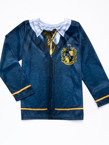 Hufflepuff Top - Child Costume back