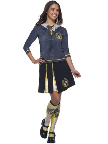 Hufflepuff Top - Child Costume left