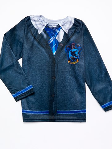 Ravenclaw Top - Child Costume back