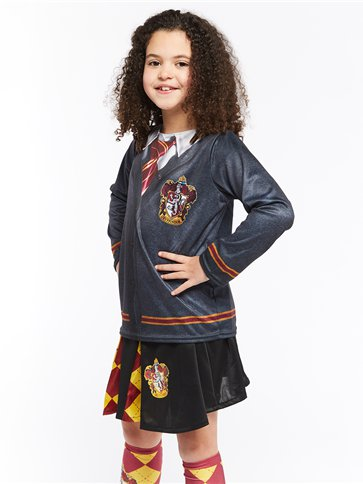 Gryffindor Skirt - Child Costume back