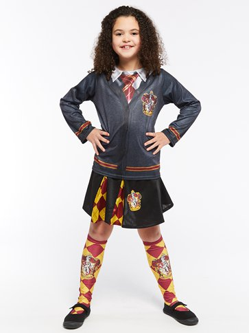 Gryffindor Skirt - Child Costume left