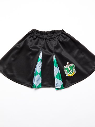 Slytherin Skirt - Child Costume back