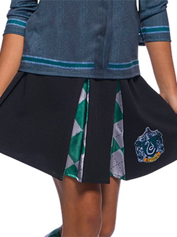 Slytherin Skirt - Child Costume front