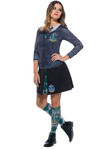 Slytherin Skirt - Child Costume left