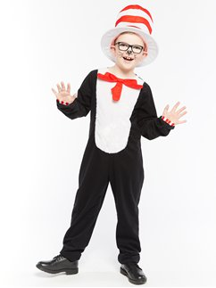 Dr. Seuss Cat in the Hat Jumpsuit