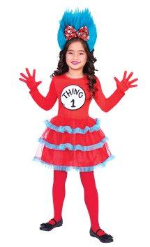 c1932dda Dr. Seuss Cat in the Hat Jumpsuit - Child Costume | Party Delights
