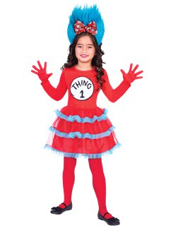 Dr. Seuss Thing One & Two Dress