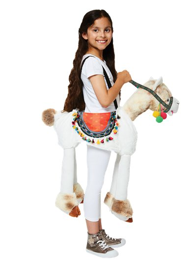 Ride on  Llama - Child Costume