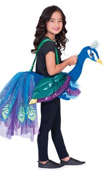 Ride on  Peacock - Child Costume