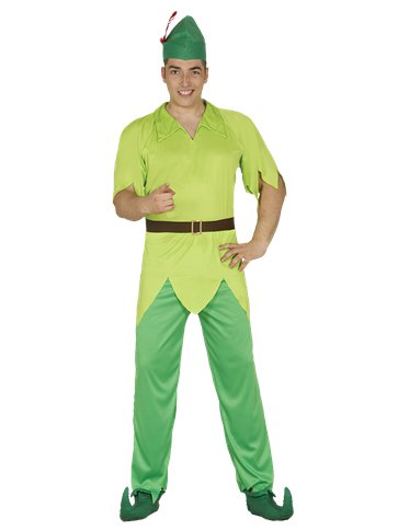 Peter  Pan - Adult Costume front