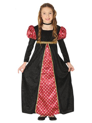 Medieval  Girl - Child Costume front