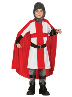 Medieval English Knight - Child Costume
