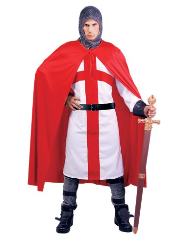 Medieval English Knight - Adult Costume front