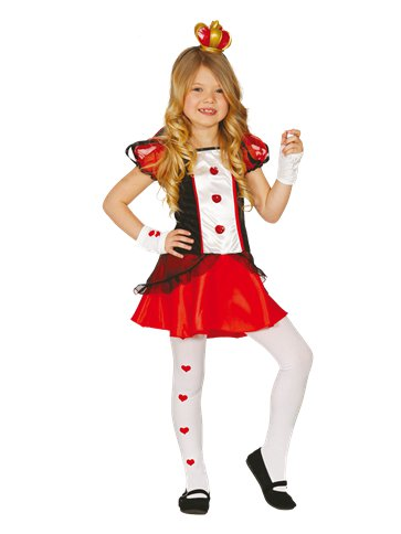 Red  Queen - Child Costume front