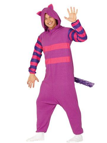 cb102f0708e1 Cheshire Cat Onesie - Adult Costume