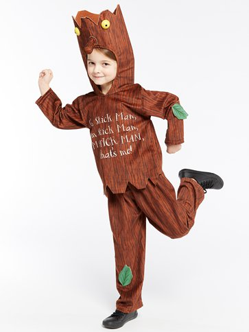 Stick  Man - Child Costumes front