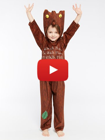 Stick  Man - Child Costumes video